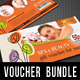 3 in 1 Beauty and Spa Gift Voucher Bundle 03 - GraphicRiver Item for Sale