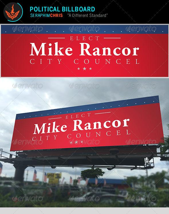 GraphicRiver Political Billboard Template 8745629
