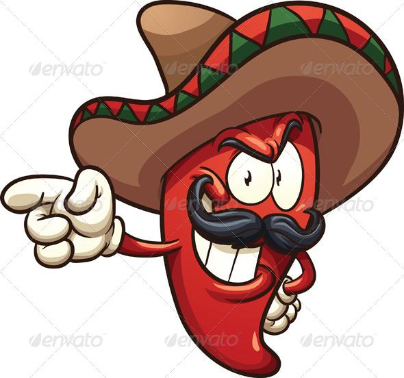 GraphicRiver Mexican Pepper 8752144