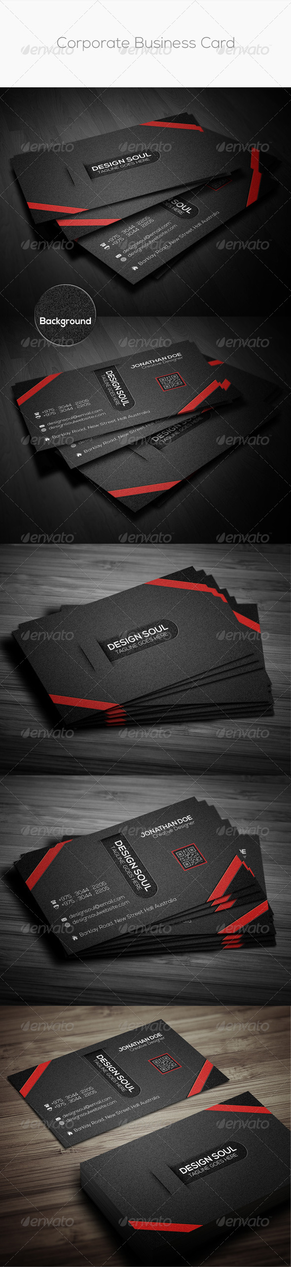 GraphicRiver Corporate Business Card 8752232