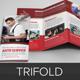 Auto Repair Service Trifold Brochure Template  - GraphicRiver Item for Sale