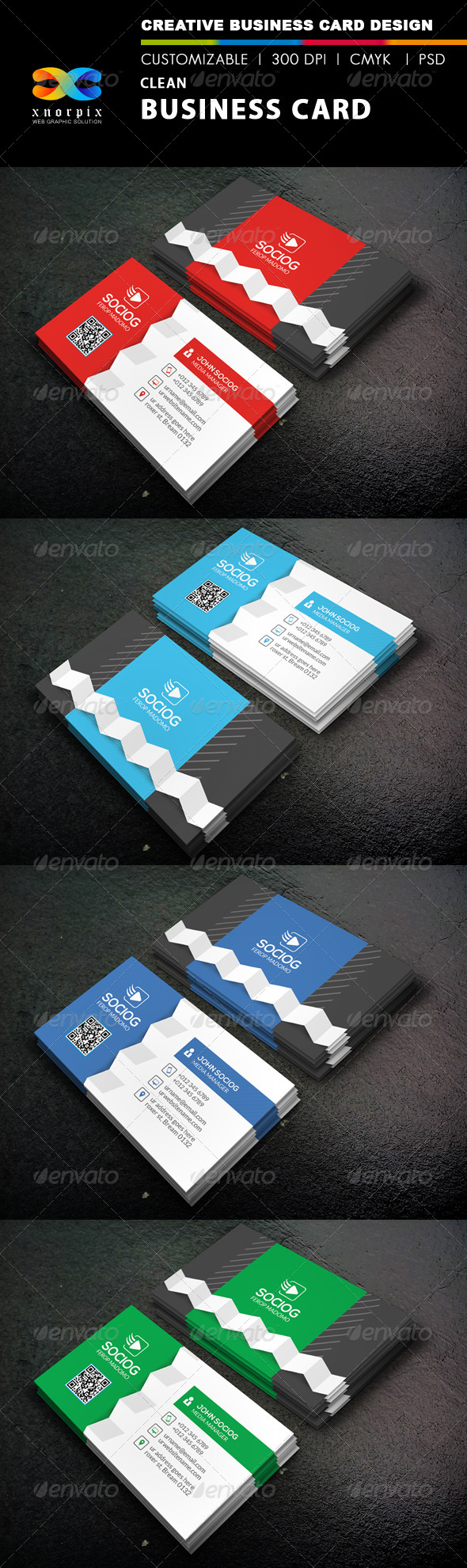 GraphicRiver Clean Business Card 8752938
