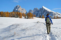 Hiking the Dolomites in autumn - PhotoDune Item for Sale
