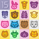 15 Icons With Animals - GraphicRiver Item for Sale