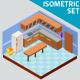 Isometric Kitchen Set - GraphicRiver Item for Sale