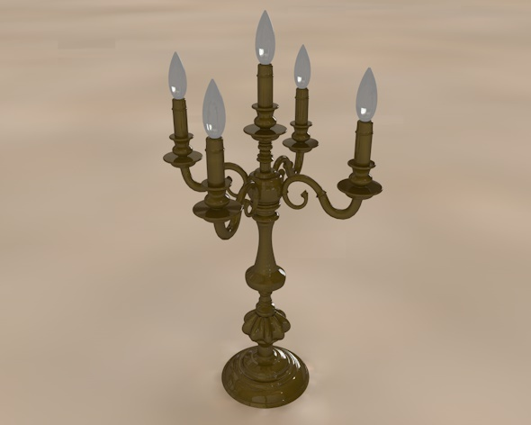 Candelabrum - 3DOcean Item for Sale