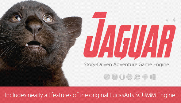 CodeCanyon Jaguar Adventure Game Engine 8753130