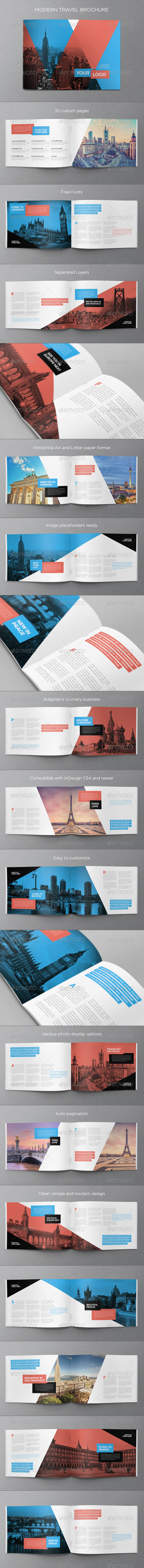 GraphicRiver Modern Travel Brochure 8753153