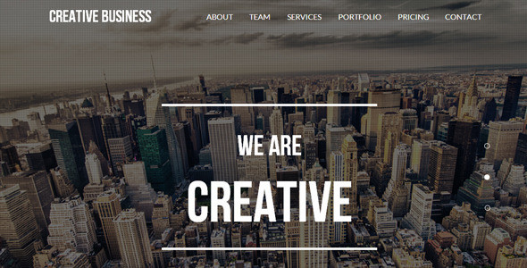 ThemeForest Creative Business One Page Parallax Template 8753157