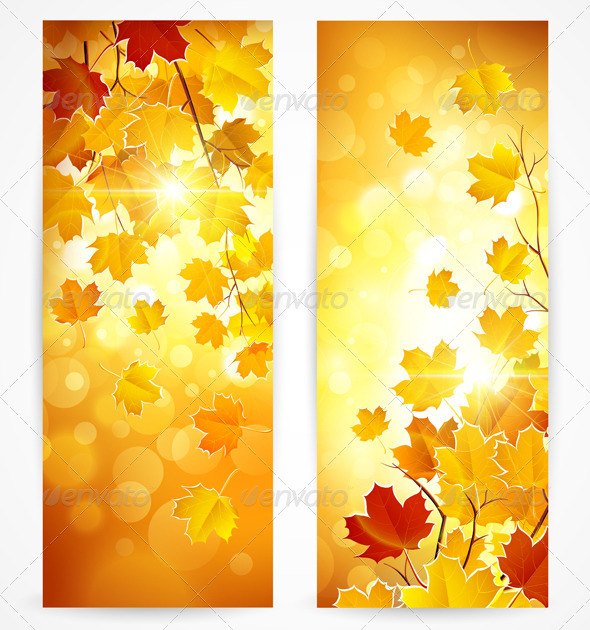 GraphicRiver Autumn Banners 8753240