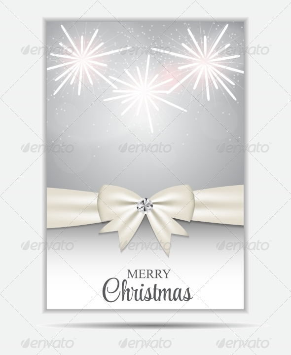 GraphicRiver Christmas Website Banner and Card Background Vecto 8753648