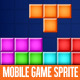 Tetris Mobile Game Sprite - GraphicRiver Item for Sale