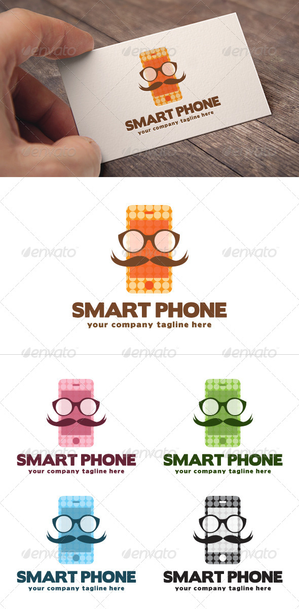 GraphicRiver Smart Phone Logo 8753734