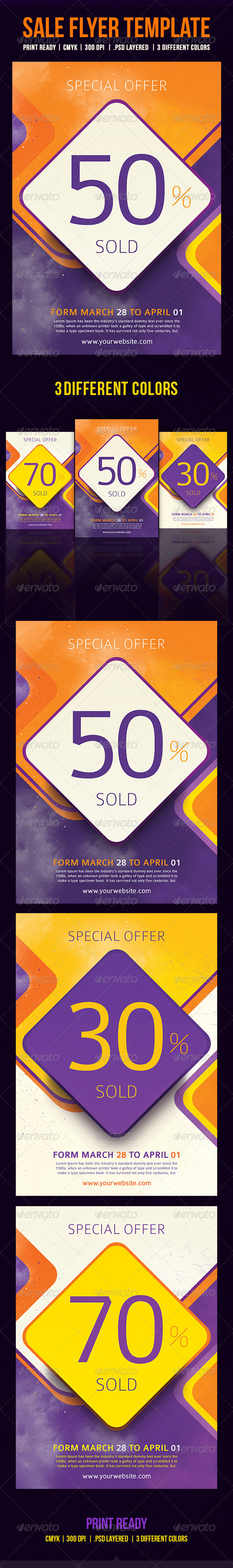 GraphicRiver Sale Flyer Template 8753741
