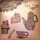Tea Time Set Card - GraphicRiver Item for Sale