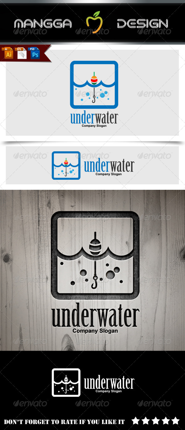 GraphicRiver Under Water Logo 8753941