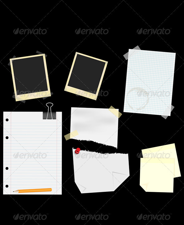 GraphicRiver Stationery Scrapbooking 889519