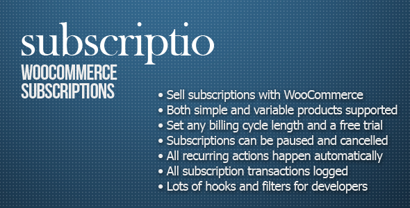 CodeCanyon Subscriptio WooCommerce Subscriptions 8754068