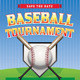 Vector Baseball Tournament Illustration - GraphicRiver Item for Sale