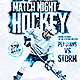 Hockey Game Night | Flyer Template PSD