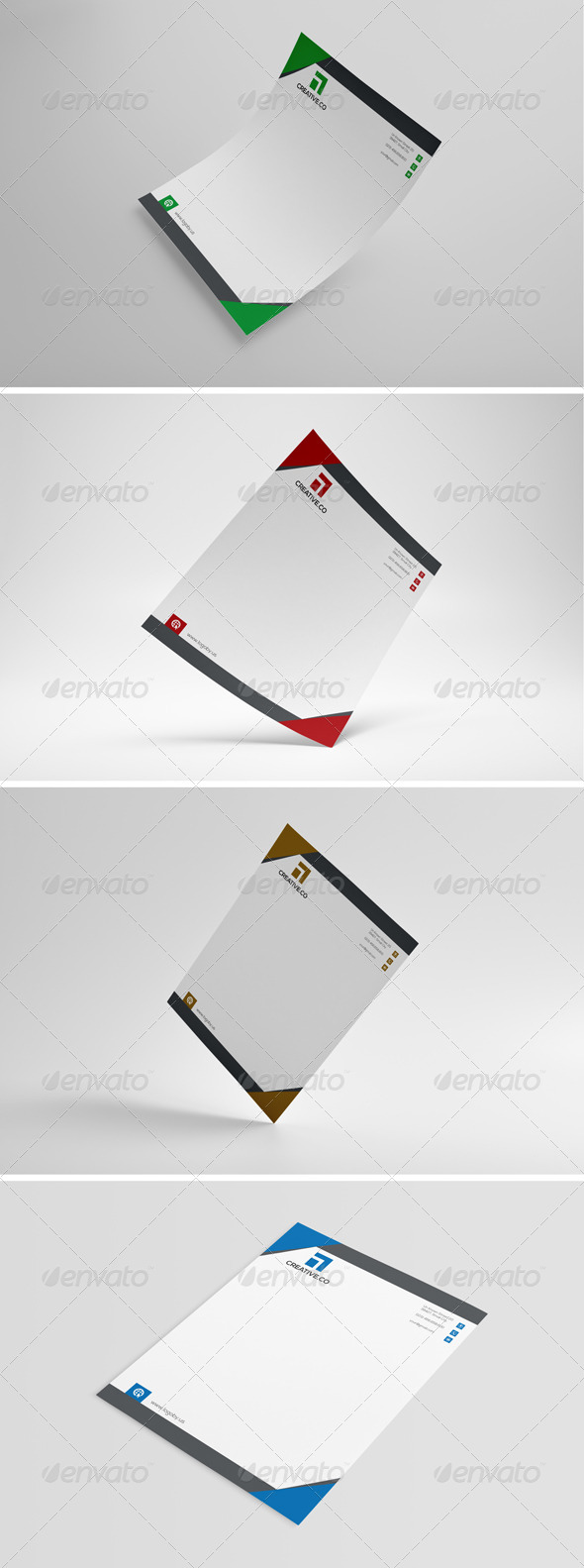 GraphicRiver Business Letterhead 8754426