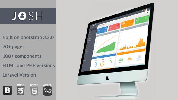CodeCanyon Josh Admin Template with Laravel 8754542
