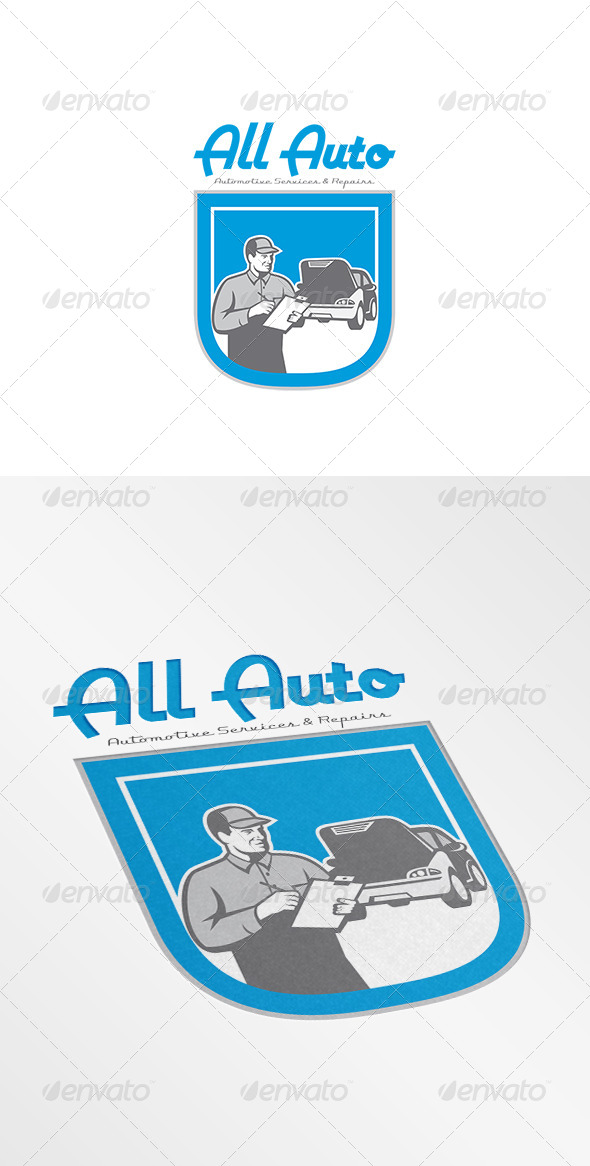 GraphicRiver All Auto Automotive Services Logo 8754642