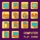 Flat Computer Icons - GraphicRiver Item for Sale