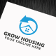Grow Housing Logo Template - GraphicRiver Item for Sale