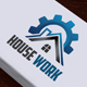 House Work Logo - GraphicRiver Item for Sale