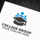 College Group Logo Template - GraphicRiver Item for Sale