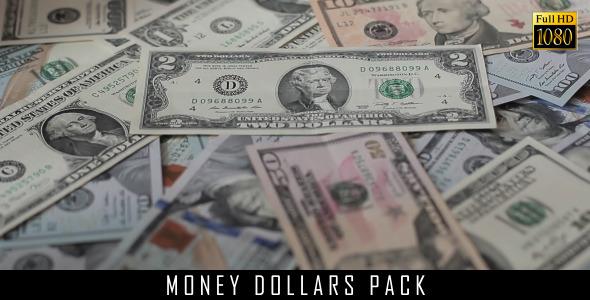 Money Dollars Pack 4