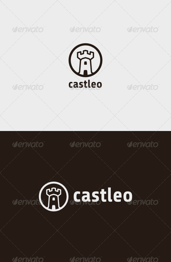 GraphicRiver Castleo Logo 8755410