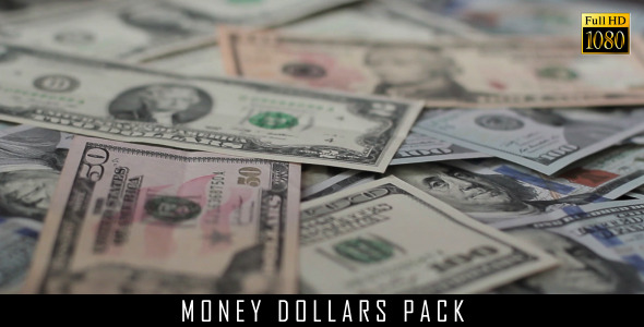 Money Dollars Pack 7