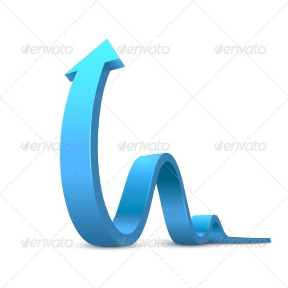 GraphicRiver Arrow 3D 8755745