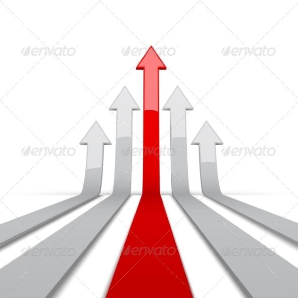GraphicRiver Arrow 3D 8755752