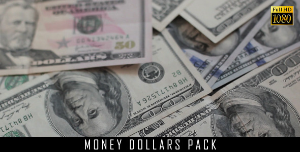 Money Dollars Pack 11