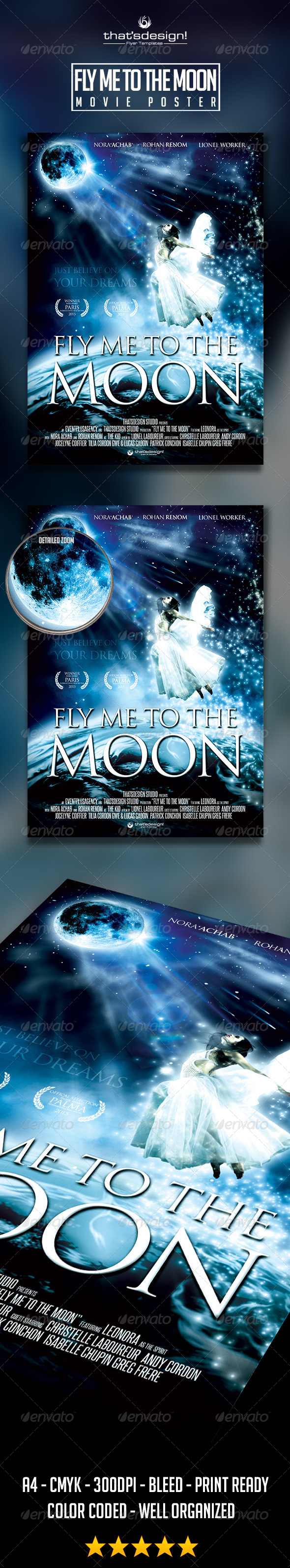 GraphicRiver Fly Me to the Moon Movie Poster Template 8752128