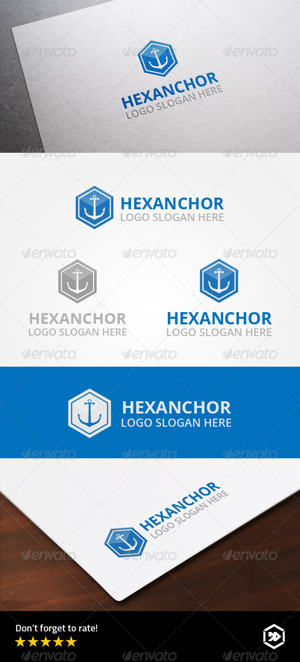 GraphicRiver Hexagonal Anchor 8755831