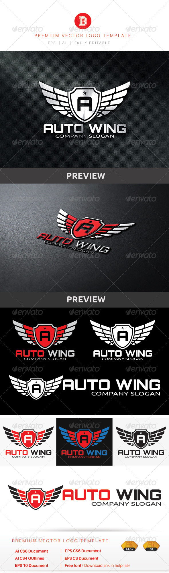 GraphicRiver Auto Wing 8755894