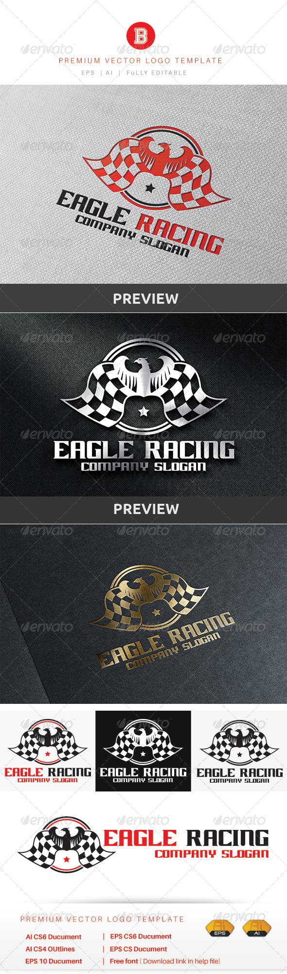 GraphicRiver Eagle Racing 8755898