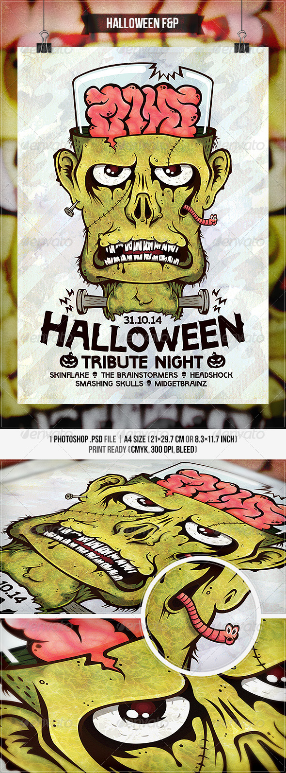 GraphicRiver Halloween Flyer & Poster 8755899