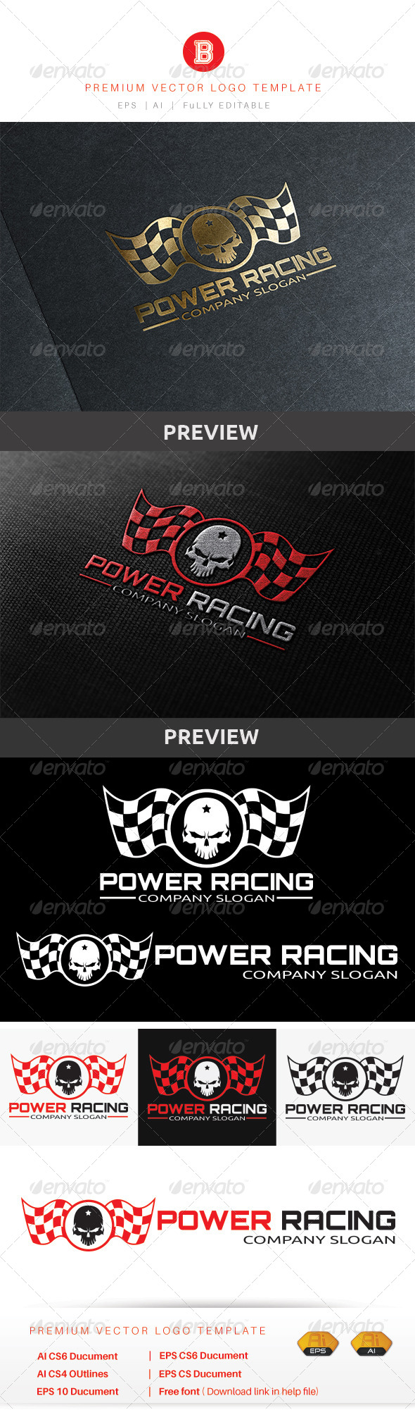 GraphicRiver Power Racing 8755926
