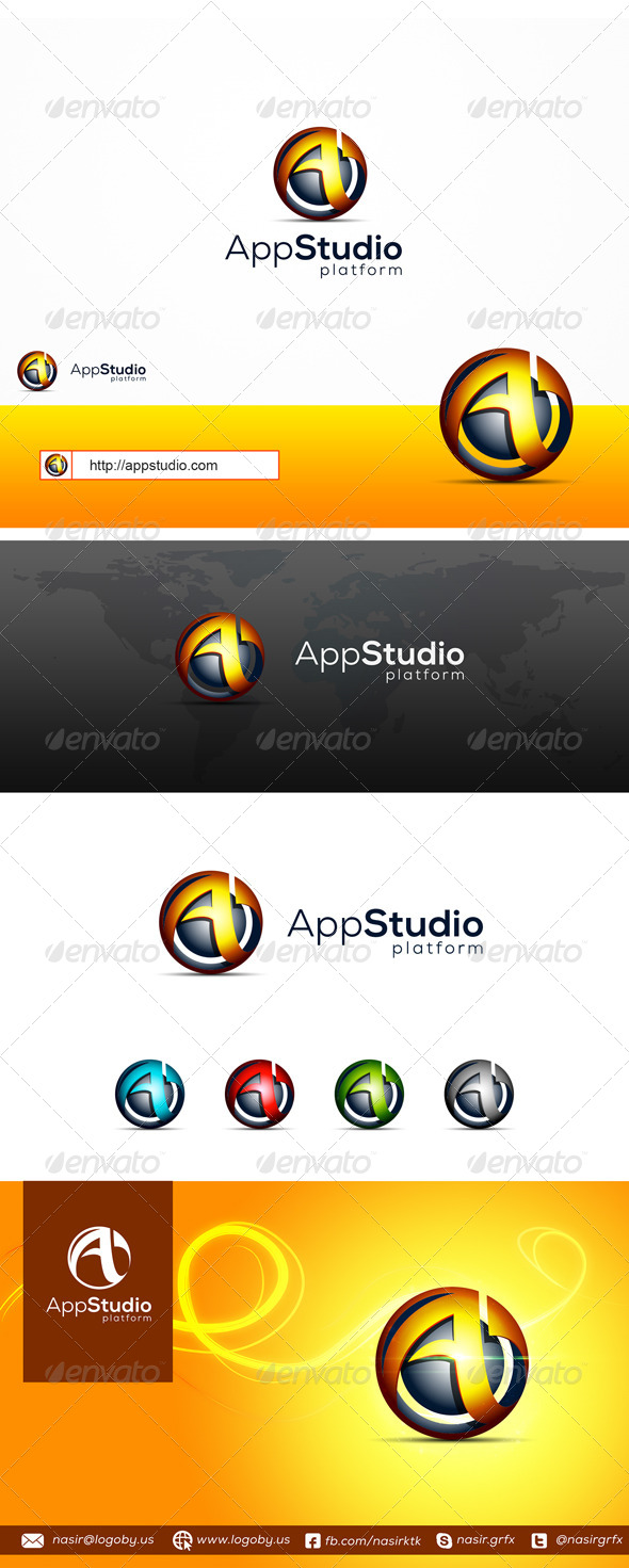 GraphicRiver Apps Studio 8755933
