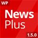 NewsPlus - Magazine/Editorial WordPress Theme - ThemeForest Item for Sale