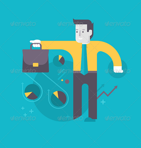 GraphicRiver Success in Investing and Financing 8756304