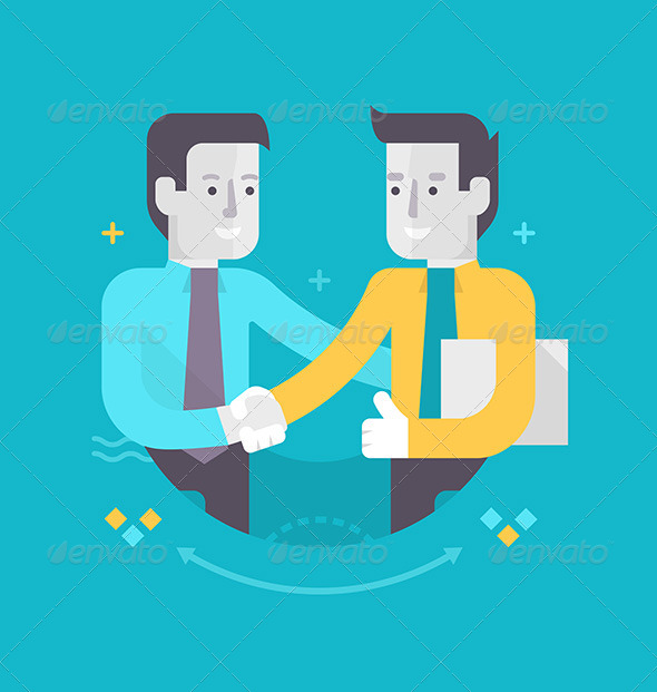 GraphicRiver Partnership and Cooperation in Business 8756311