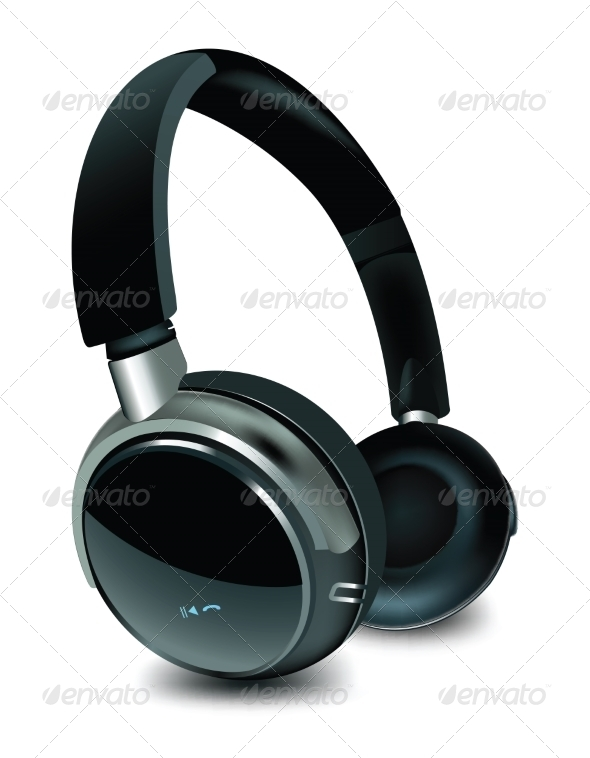 GraphicRiver Headphones 8756407