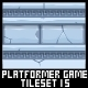 Platformer Game Tile Set 15 - GraphicRiver Item for Sale