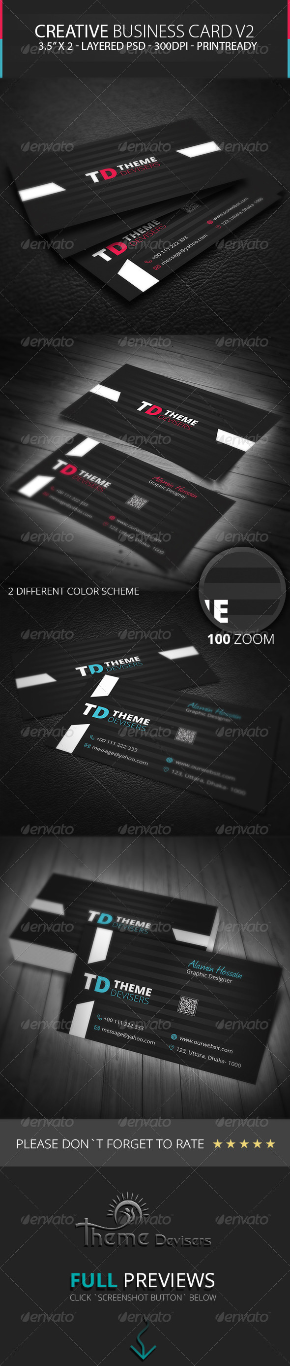 GraphicRiver Creative Business Card V2 8756519